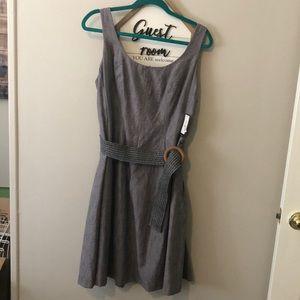 NWT! Nine West Gray Dress